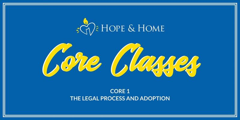 CORE 1: The Legal Process & Adoption