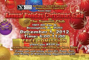 NSN Birmingham Annual Holiday Christmas Gala