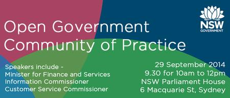 Open Government Community of Practice