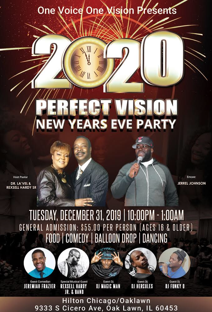 God's House of All Nations New Years Celebration