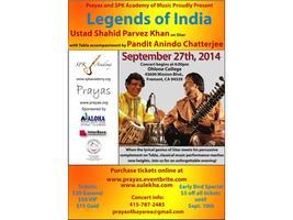 Legends of India - Ustad Shahid Parvez & Pandit Anindo...