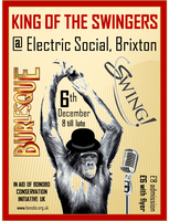 King of the Swingers - Bonobo Fundraiser featuring Swing...