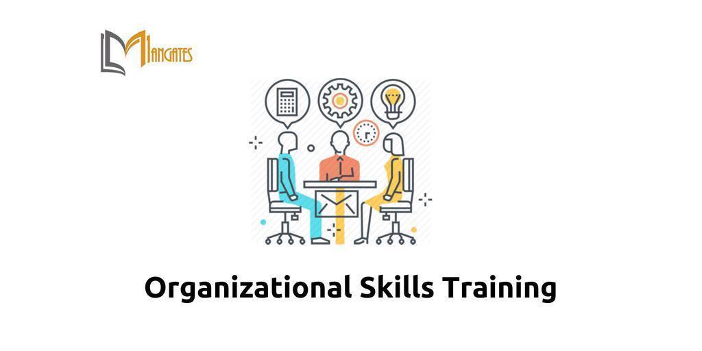 Organizational Skills 1 Day Virtual Live Training in Edmonton