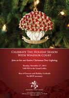 Windsor Court Christmas Tree Lighting