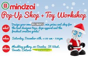 Mindzai Pop-up Shop + DIY Toy Workshop
