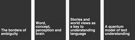 Understanding language by machines - 1st VU-Spinoza...