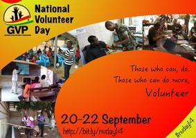 National Volunteer Day 2014