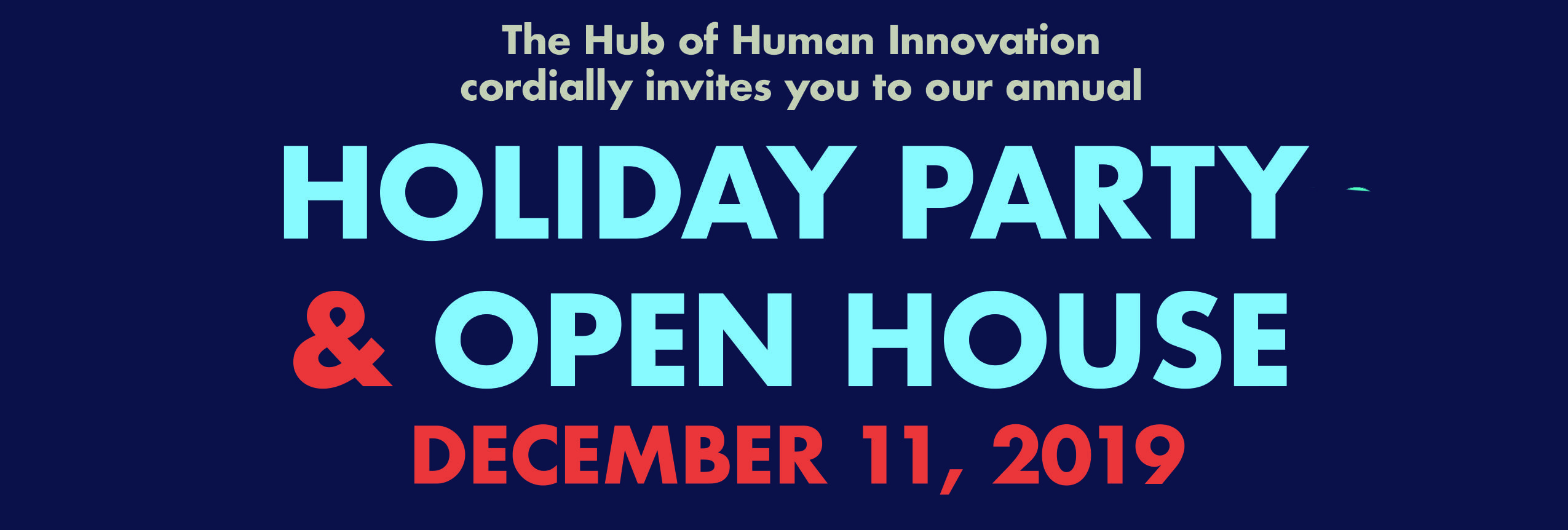 Annual Holiday Party & Open House