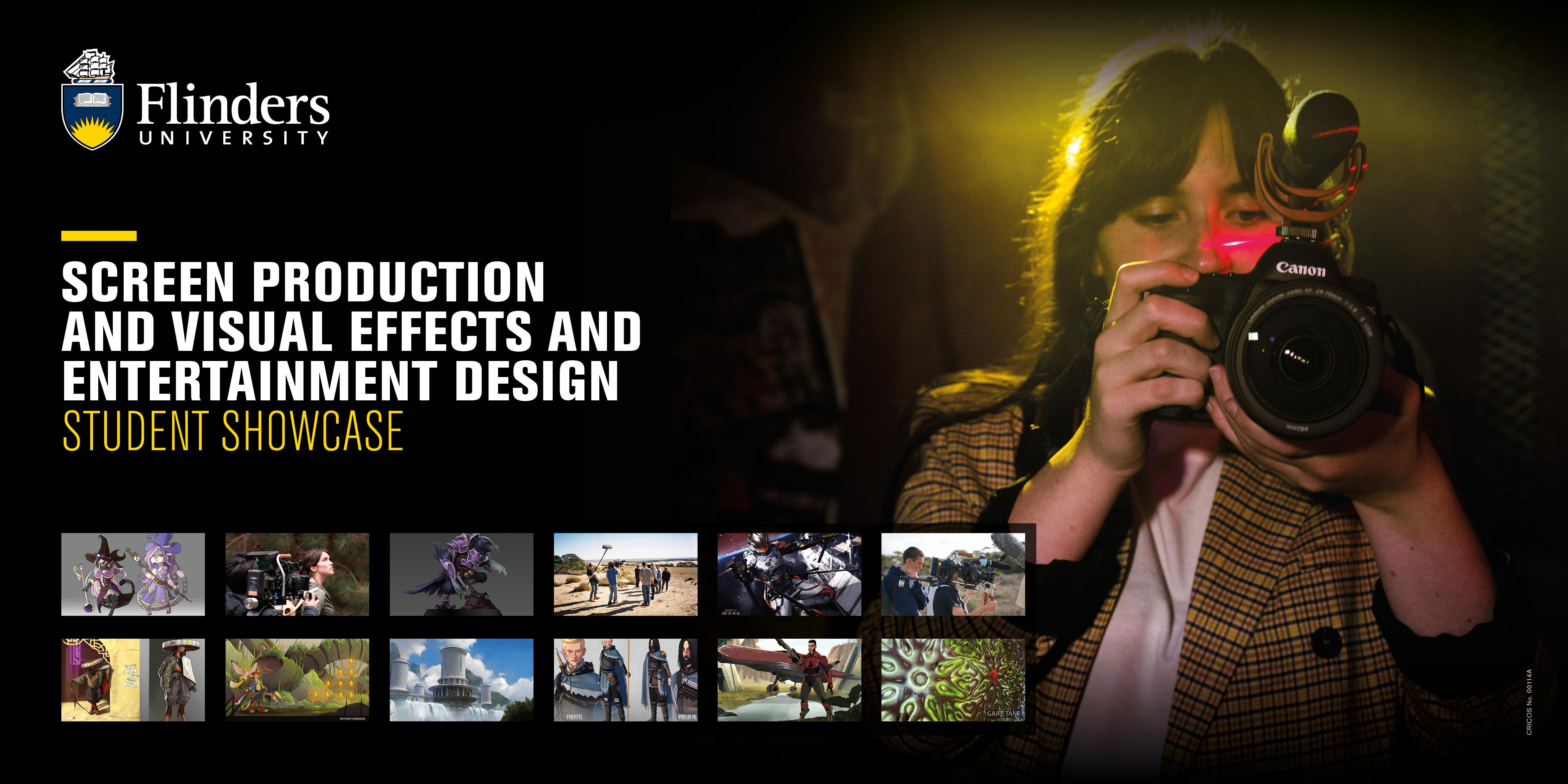 Screen Production & Visual Effects & Entertainment Design Showcase