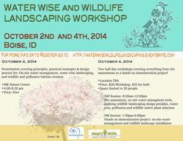 Waterwise and Wildlife Landscaping Workshop