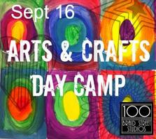 Sept 16 Arts & Crafts Day Camp 9-3pm, Ages 8-12 Strike...