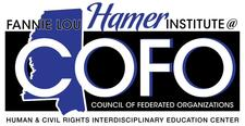 The Fannie Lou Hamer Institute @ COFO logo