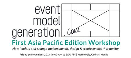 Event Model Generation (First Asia Pacific Edition...