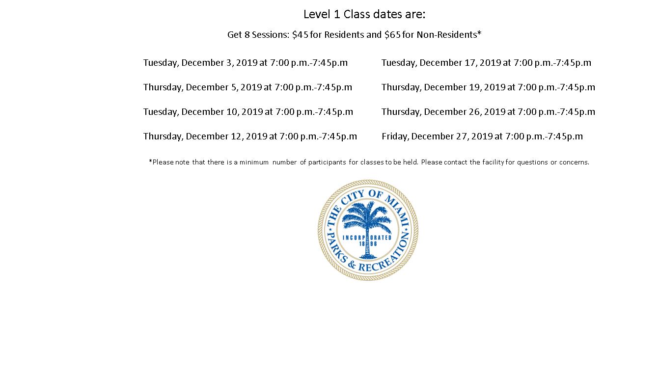 Grapeland Water Park Level 1 Tuesday/Thursday (7:00PM-7:45PM)