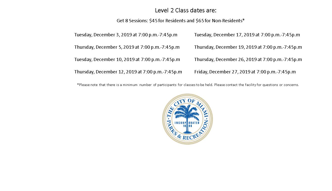Grapeland Water Park Level 2 Tuesday/Thursday (7:00PM-7:45PM)