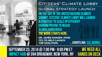 Global Climate Strategy Launch