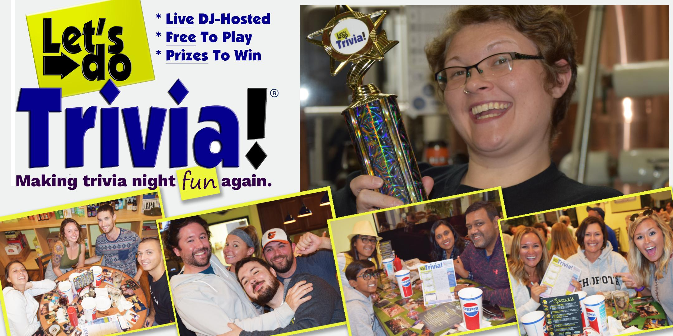 Christiana! Let's Do Trivia! is now at Christiana Pub