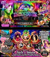 """THE ELECTRIC NEON CIRCUS 2014 """"Its A Klown-Rave!""""..."""