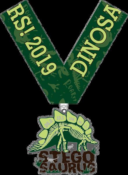 2020 Dinosaurs! STEGOSAURUS 1 Mile, 5K, 10K, 13.1, 26.2 - Austin