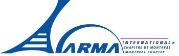 46e Demi-journée conférence d'ARMA Montréal - Les...