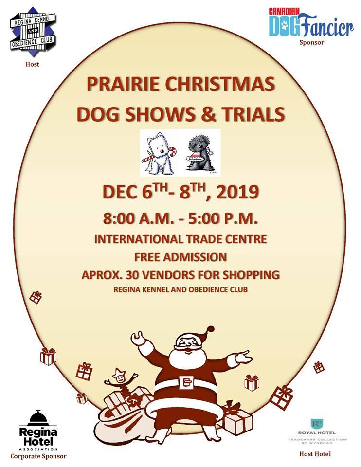 2019 Prairie Christmas Dog Shows and Trials