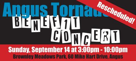 Angus Tornado Benefit Concert