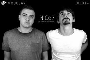 Modular | NiCe7, IT (D-FLOOR, Noir Music) » SF Debut »