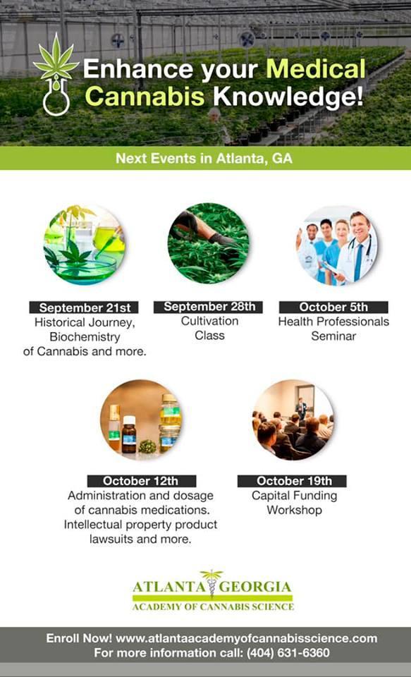 Medical Cannabis 5 week comprehensive Class