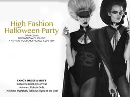 High Fashion Halloween Party
