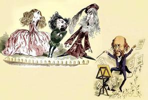 """Mozart's """"Der Schauspieldirektor"""" & Offenbach's """"Monsieur..."""