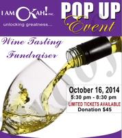 Pop Up Event: Wine Tasting Fundraiser