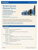 StudentSuccess National Forum