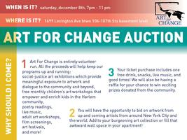 Art for Change Auction