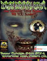 Zombie Survival Crawl & Halloween Festival Fresno