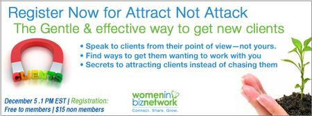 Attract Not Attack: a gentle and practical way to get...