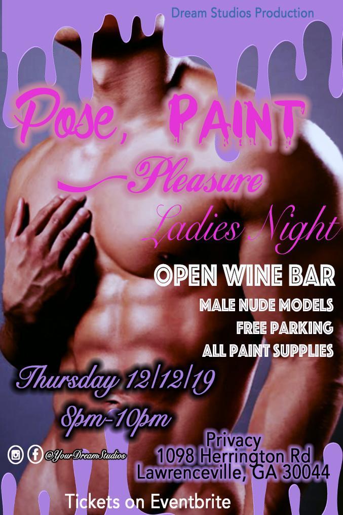 Pose, Paint + Pleasure