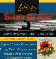 Benefit For Hope  Hurricane Sandy Relief