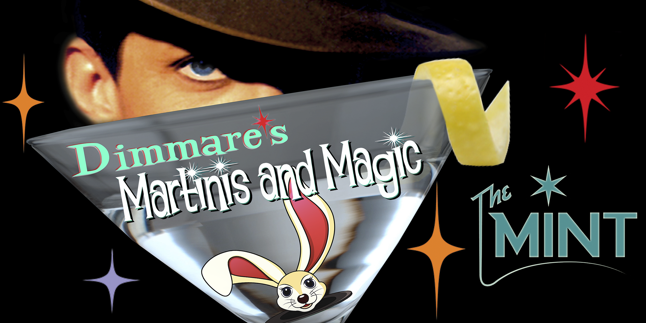 Dimmare's Martinis and MAGIC ®...with a twist of Comedy and a Hula Girl !