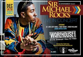 SIR MICHAEL ROCKS: LIVE IN HOUSTON: DECEMBER 14TH