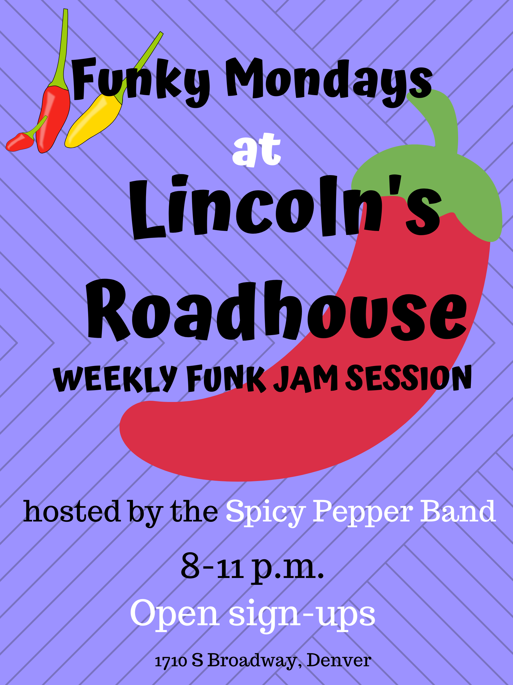 Funky Mondays Jam Session at Lincoln's Roadhouse