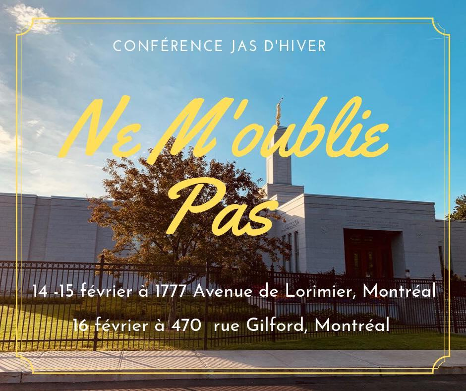 Conférence JAS de Montréal / Montréal YSA Conference