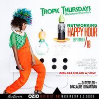 TropicThursdays DMV Professionals Happy Hour