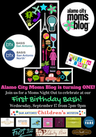 Alamo City Moms Blog First Birthday Bash