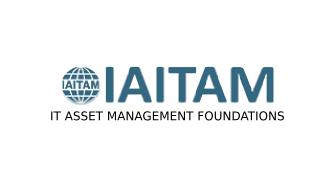 IAITAM IT Asset Management Foundations 2 Days Virtual Live Training in Brampton