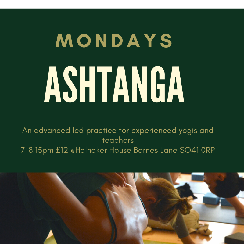 Ashtanga classes