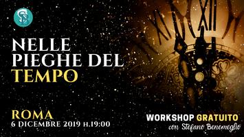 """Workshop gratuito """"Nelle pieghe del tempo"""" con Stefano..."""