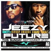 AG Entertainment Presents :: JEEZY + FUTURE :: BET...