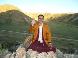 Honorable Tibetan Buddhist Lama (Rinpoche) Offers 4...