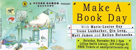 Make A Book Day