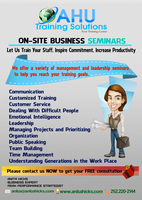 OnSite Training and Seminar Consultation